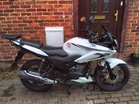 2013 Honda CBF 125 motorcycle, long MOT, service history, rear rack, very good runner, bargain ,,
