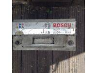 Two bosch batterys