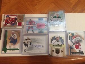2016/17 Hockey UD Products Jersey,Signed,#, RC,BC