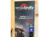Venda brolly vending machine