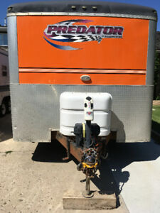 2008 Predator by Roadmaster 32ft Bumper Pull Toy Hauler Trailer
