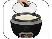 A VERY HIGH QUALITY TEFAL RK1568UK COOLTOUCH RICE COOKER GLASS LID AND REMOVEABLE BOWL