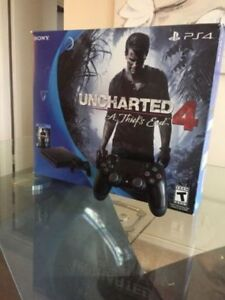 Ps4 Slim with Uncharted 4