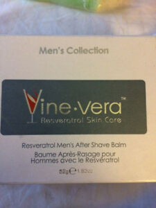 Vine Vera Resveratrol Men's After Shave Balm, 50 Milliliters
