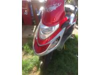 Geely 125cc moped 06 plate