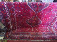 Afghan floral carpet