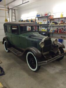 Original 1929 Model A ford