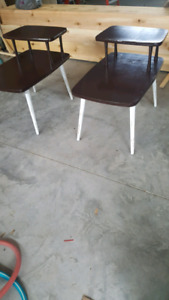 Vintage side tables