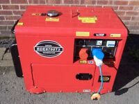 5.5 KW diesel generator single and three phase