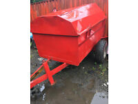 Bunded fuel bowser - 2000 ltr - Site tow