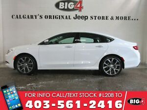 "2016 Chrysler 200C, Leather, Panoroof, 19"" wheels, V6"