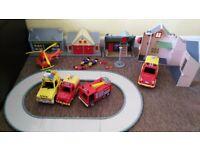 Fireman sam toys bundle