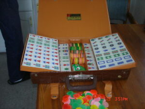 Mah Jong tile set game