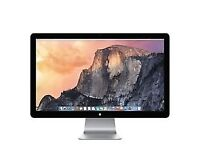 """Apple Thunderbolt Display A1407 27"""" Widescreen LED Monitor, built-in Speakers"""