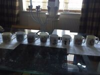 Selection of 8 royal cups for sale