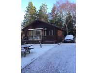 New Year Week in Aviemore. Chalet Sleeps 6 Spey Valley / Dalfaber