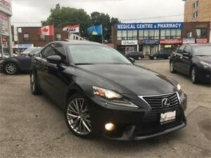 2014 Lexus IS 250, BACK UP CAM, HEATED STEERING, SUNRF ++
