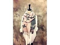 Woman's clothing Designer wool scarf