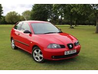 2006 SEAT IBIZA 1.2 ONLY 77K LOW MILES! 1 OWNER FROM NEW! FULL HISTORY! EXCELLENT EXAMPLE VW GOLF