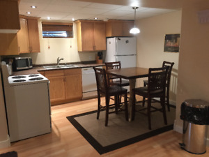 2BEDROOM FURNISHEDÉD BASEMENT SUITE SOUTH HILLSDALE