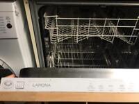 Lamona built in dishwasher