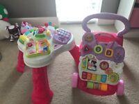 Pink toddler toys