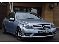 2013 Mercedes C-Class C220 CDI BlueEFFICIENCY AMG Sport Plus 4 door Auto Diesel