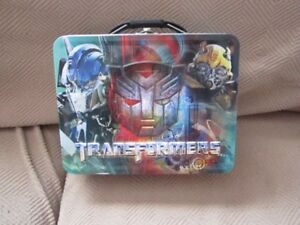 Transformers - Tin Lunchbox - New