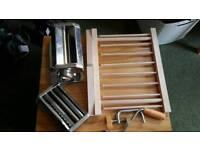 Pasta Machine and Drying Rack