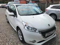 2014 PEUGEOT 208 1.0 VTi ACTIVE 3DR 68 BHP.ONLY 27000 MILES WITH FULL SERVICE