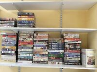 Selection of video tapes