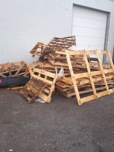 Pallets and creating. FREE