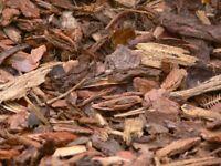 Decorative Bark Mulch sold in 1 cubic meter