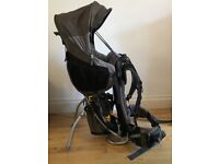 Deuter Kid Comfort 3 child carrier, with built in hood, low usage