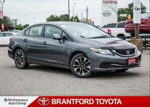 2013 Honda Civic EX, Manual Transmission, Sunroof, Carproof Clea