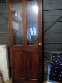 B&Q Wooden Door For Sale