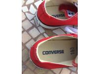 Converse red size 5