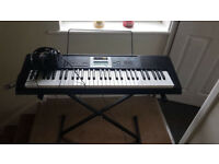 Casio LK-170 Keyboard - with stand and headphones