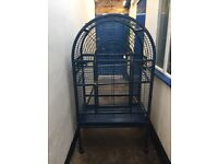 Parrot cage 2years old in good condition suitable for African grey or bigger birds