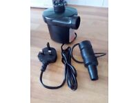 Moobom Electric Air Pump 240V Plug Automatic Inflatable Boat Pump with 3 Nozzle Adapters