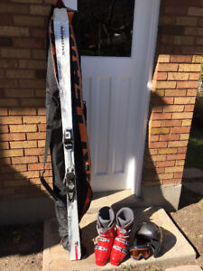 Complete Downhill Ski Package