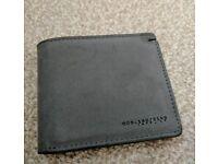 Suede Grey Wallet