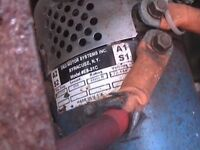 Daewoo matiz se electric motor e8-31c