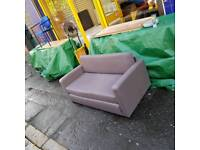 Fabric bed sofa