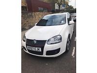 VW MK5 GOLF GTI DSG 2007 5DR WHITE SUNROOF