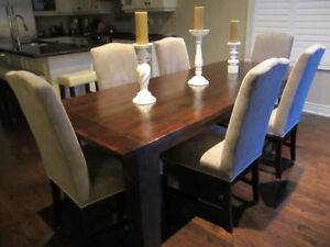 Kitchen Harvest Dining Table *6 & 7 foot* w/ Benches