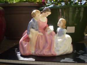"Royal Doulton Figurine - "" The Bedtime Story "" - HN2059"