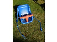 Swing seat for toddlers