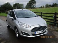 Ford Fiesta - 5 door Zetec, petrol, 14 plate, excellent condition and low mileage