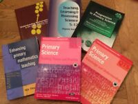 Primary school teacher maths and science books